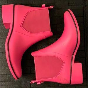 Kate Spade Pink Rain Boots